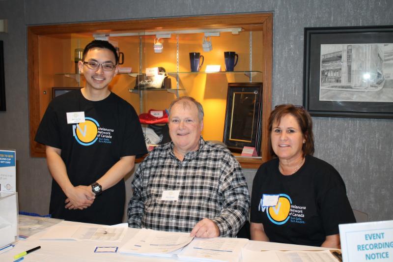 Melanoma Patient Inforamtion Session volunteers