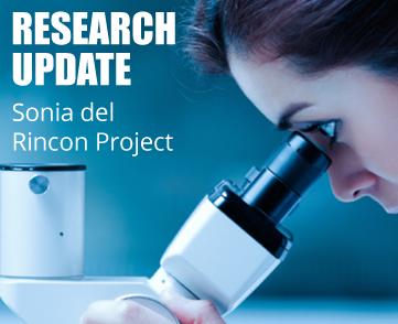 Melanoma Research Update Sonia del Rincon Project