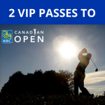 VIP Passes to the Canadian Open