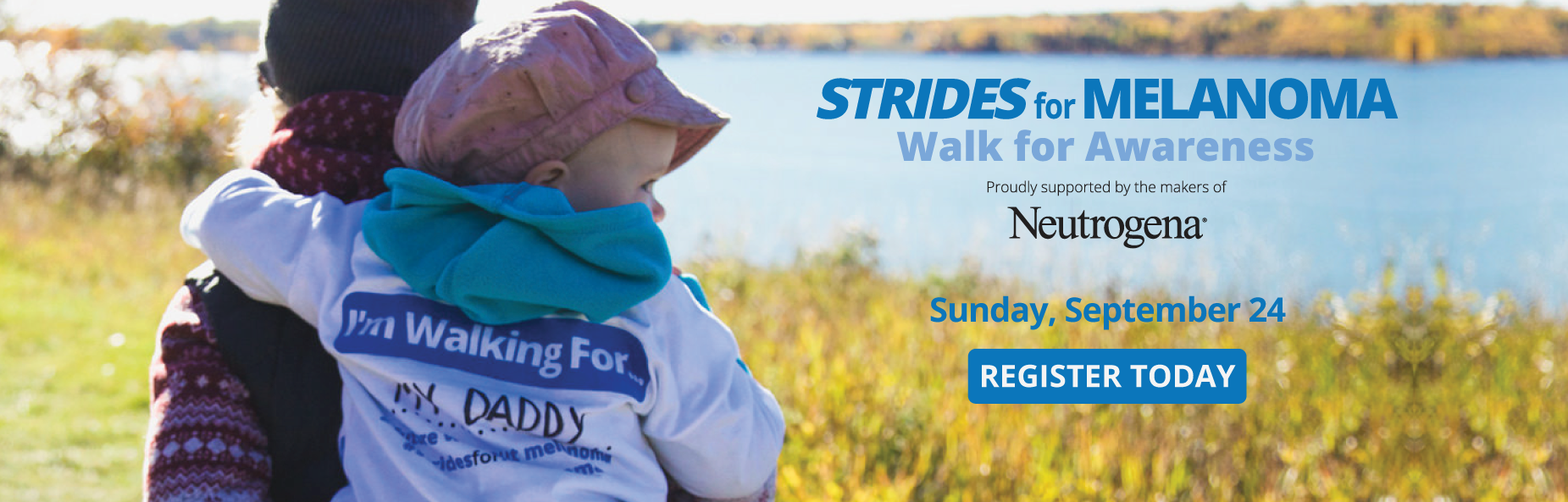 Register Today for Strides for Melanoma Walk for Awareness