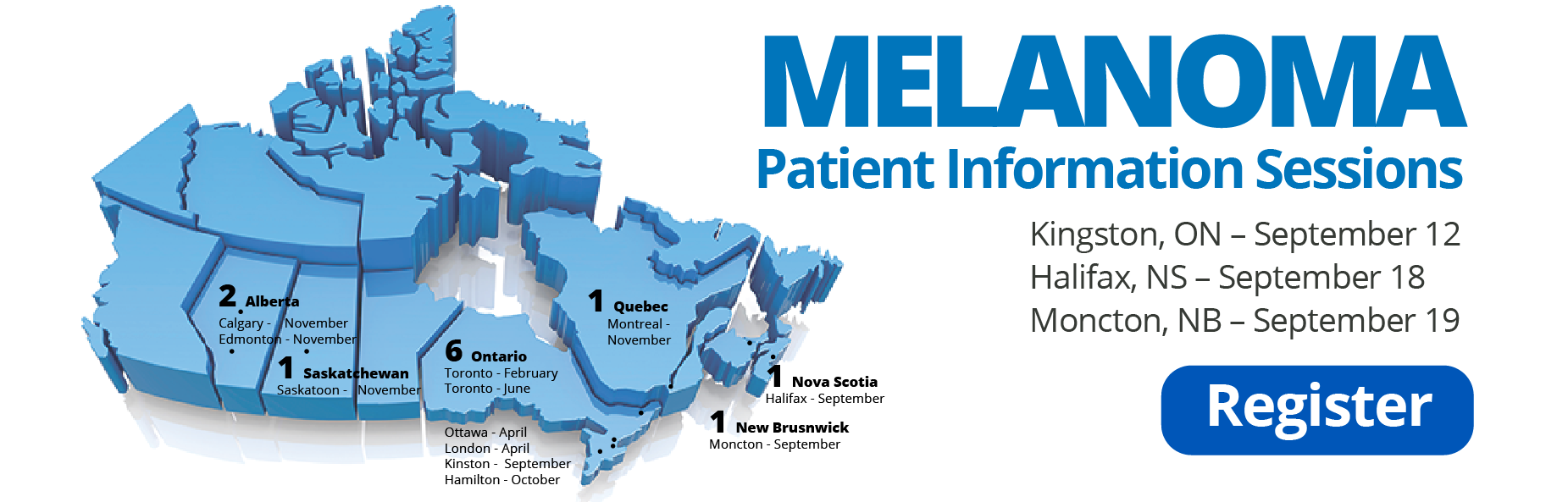 Melanoma Patient Information Sessions Canada