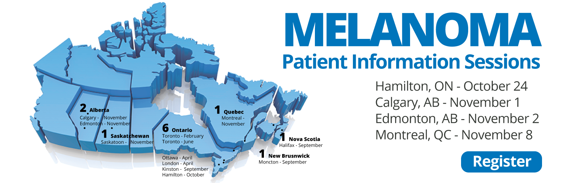 Melanoma Patient Information Session Schedule Canada
