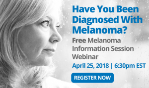 Live Webinar Melanoma Information Session