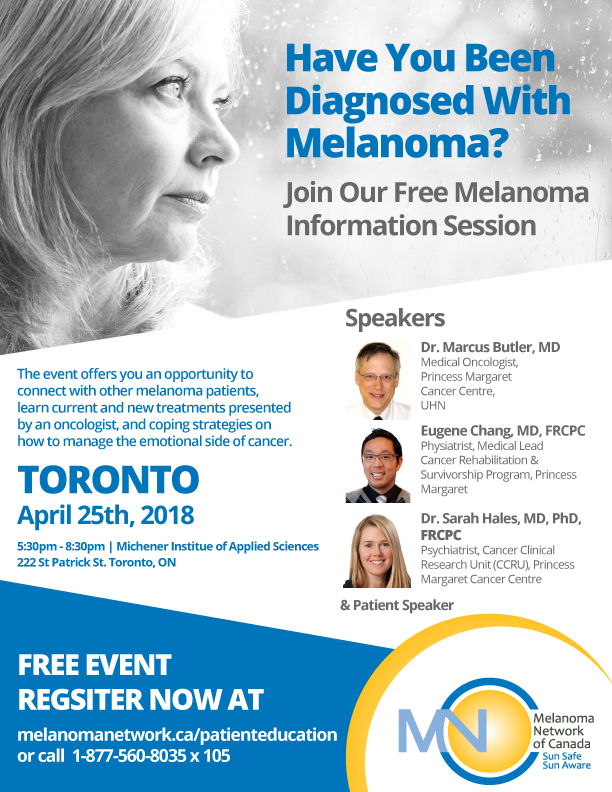 Melanoma Information Session Toronto