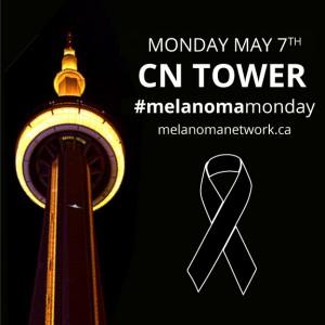 CN Tower Lights up Yellow for Melanoma Awarness @ CN Tower  | Toronto | Ontario | Canada