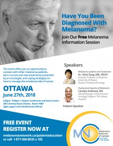Ottawa Melanoma Information Session @ Ottawa Conference and Event Centre | Ottawa | Ontario | Canada