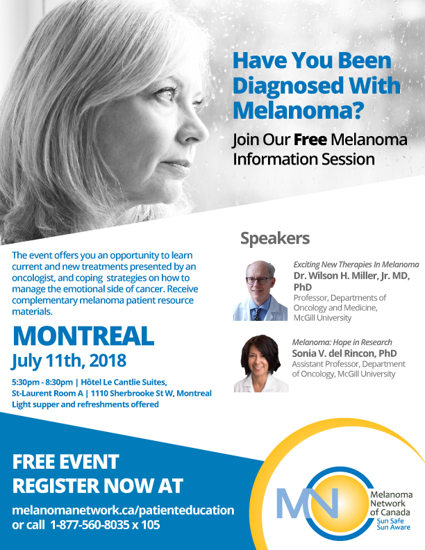 Melanoma Information Session Montreal