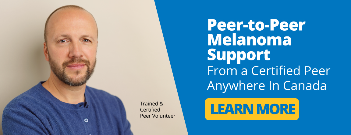 Peer to Peer melanoma support