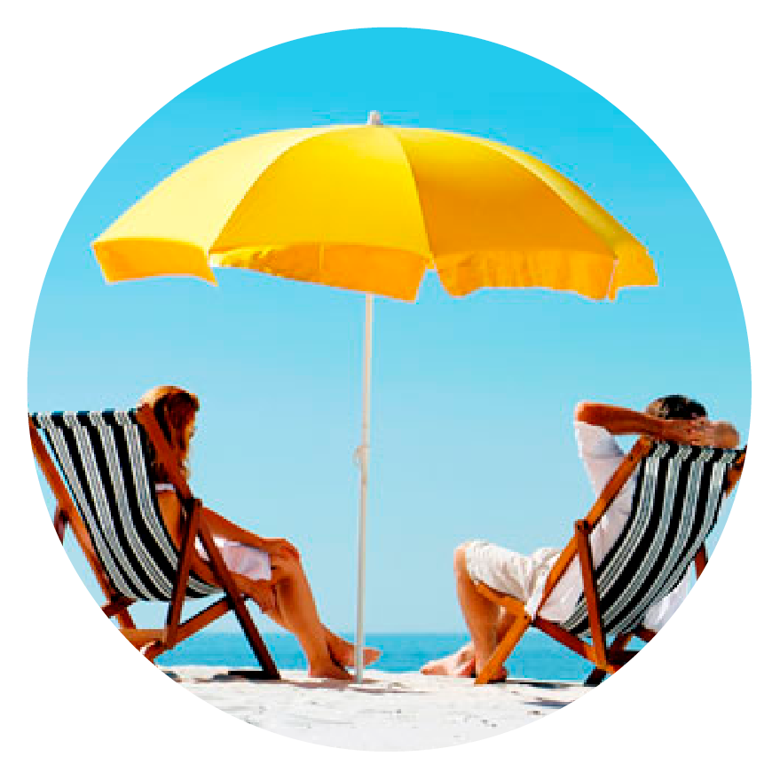 BEACH UMBRELLA SPF