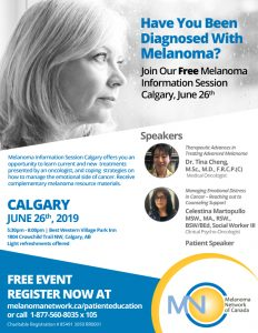 Melanoma Information Session Calgary @ Best Western Village Park Inn