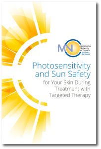 Sun safety during targeted therapy