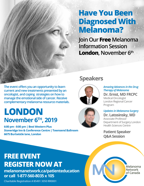 London Melanoma Information Session