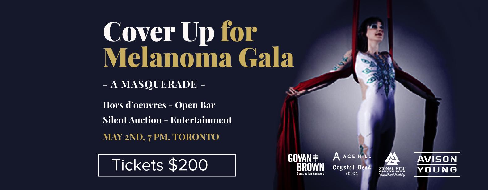 Cover Up for Melanoma Gala