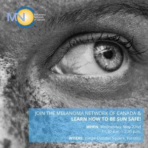 YOU MISSED A SPOT – Melanoma Awareness Event @ Yonge-Dundas Square