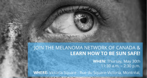 YOU MISSED A SPOT – Melanoma Awareness Event Montreal @ Victoria Square