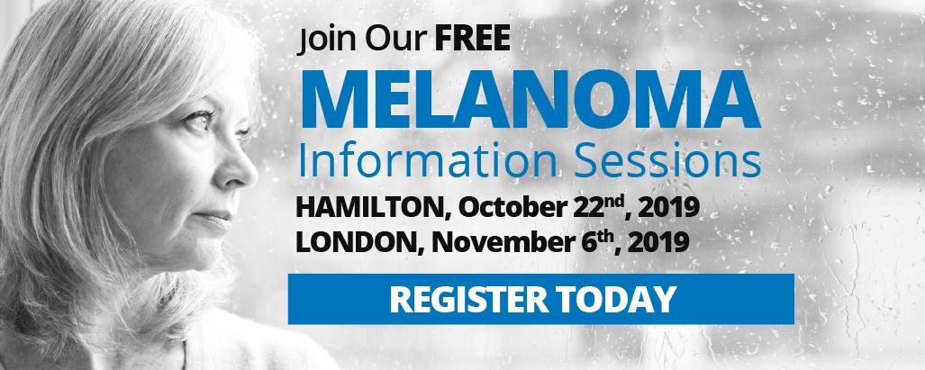 Hamilton and London Melanoma Information Session