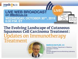 WEBINAR The Evolving Landscape of cSCC Treatment