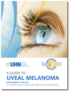 image of our updated Uveal Melanoma booklet 2020