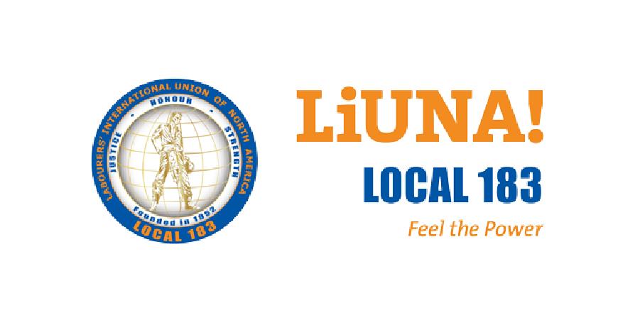Image of LiUNA local 183 logo
