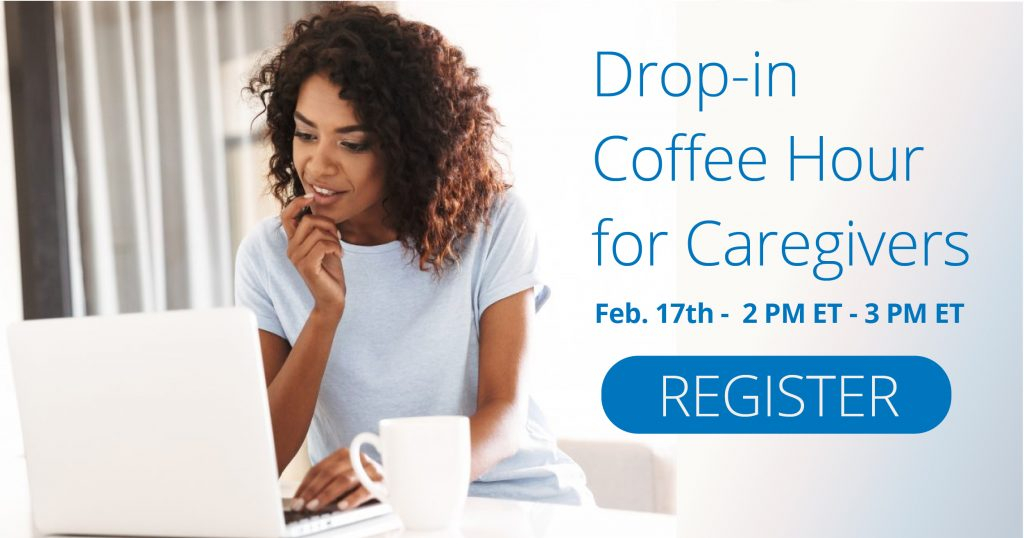 drop in coffee hour for caregivers